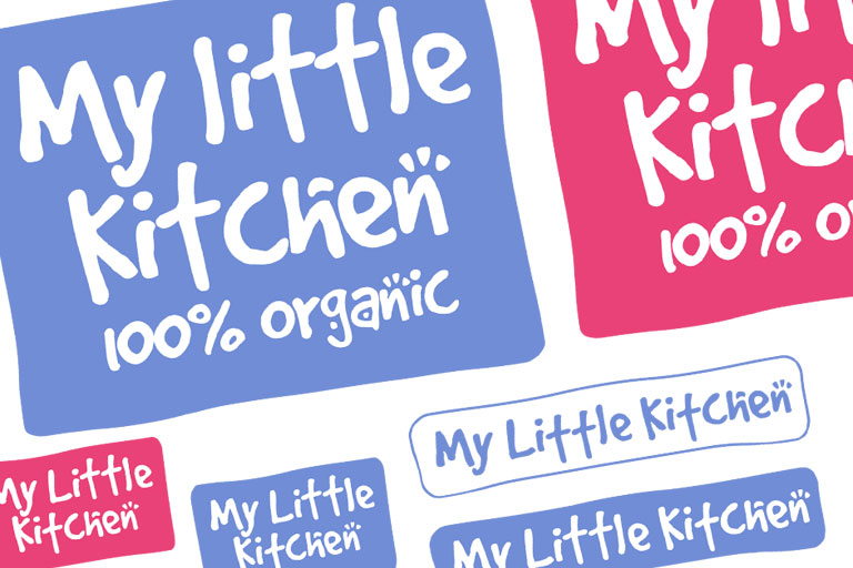 My Little Kitchen - Branding concept