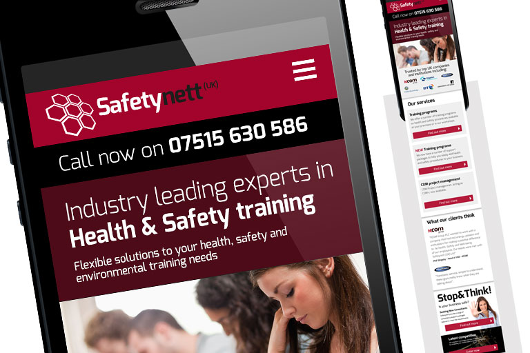 Safety-nett.com - Responsive website design, Marketing and branding